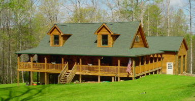 Custom Log home builder