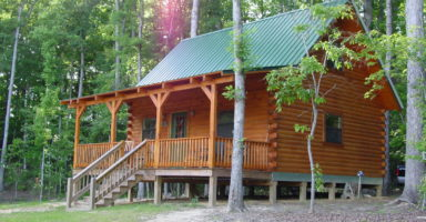Log home builder in North Carolina