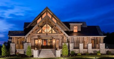 Log home builder in Central Virginia